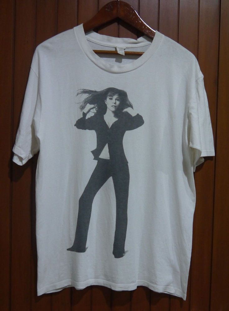 vintage 1996 MARIAH CAREY Daydream PROMO TOUR japan TOKYO dome t-shirt 90s #Unreadalbe #GraphicTee