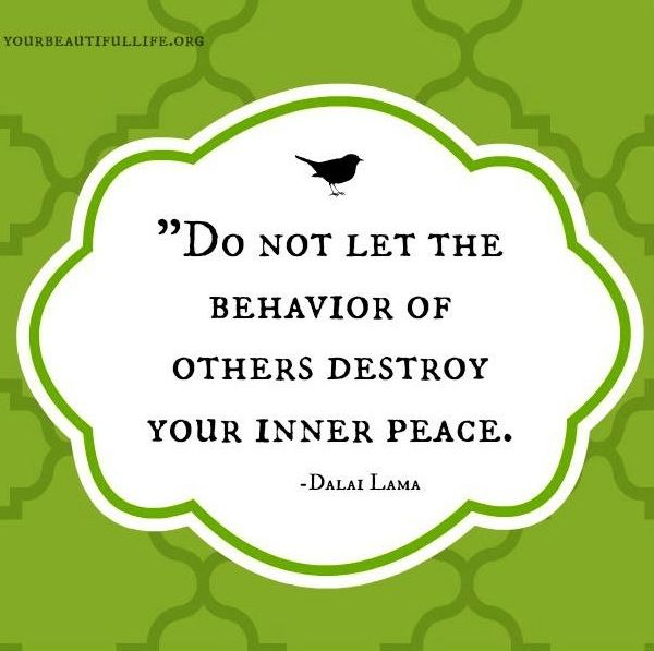 Seems harder to achieve with everything going on in the world right now....Inner peace