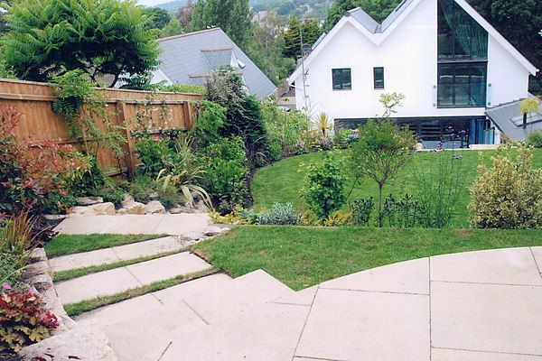 Steep Garden – Complete Makeover – After