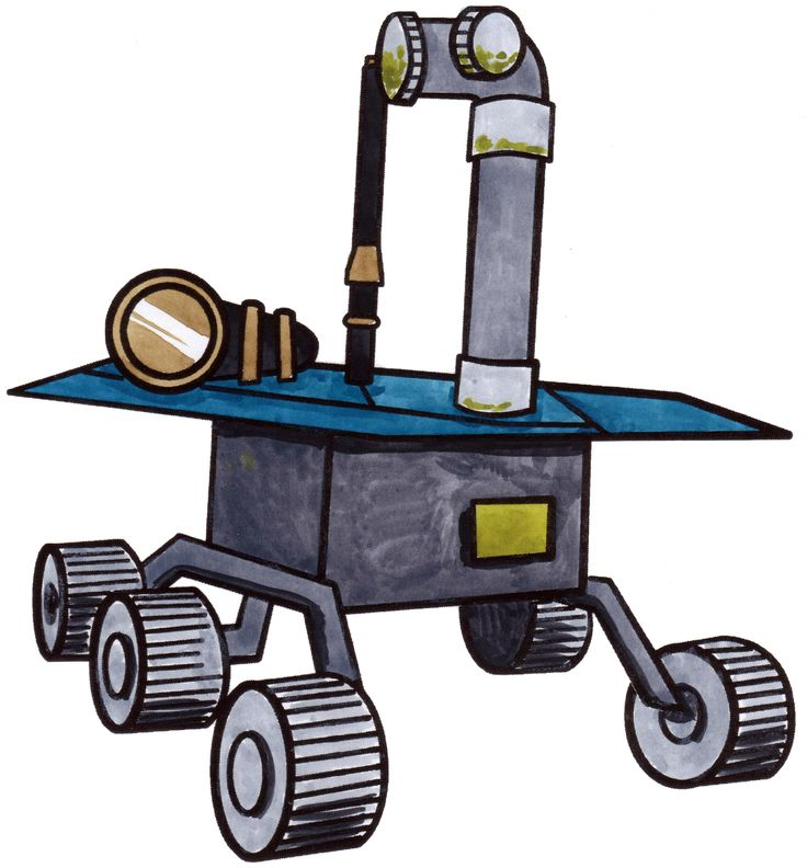 How To Draw A Space Rover Rovers Are Sent To Planets That