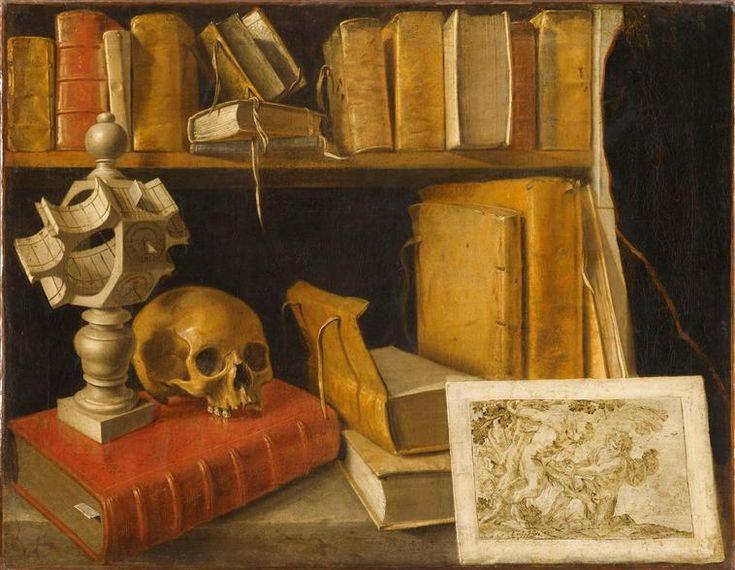 """""""Vanité au cadran solaire"""" (attribué à) Sebastian Stoskopff (1597-1657) . Paris, musée du Louvre - Photo (C) RMN-Grand Palais (musée du Louvre) / Franck Raux"""