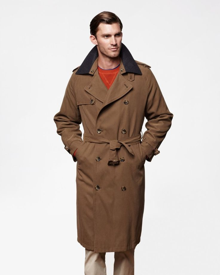 Trench Coat For Men 2 | Fashideas.com