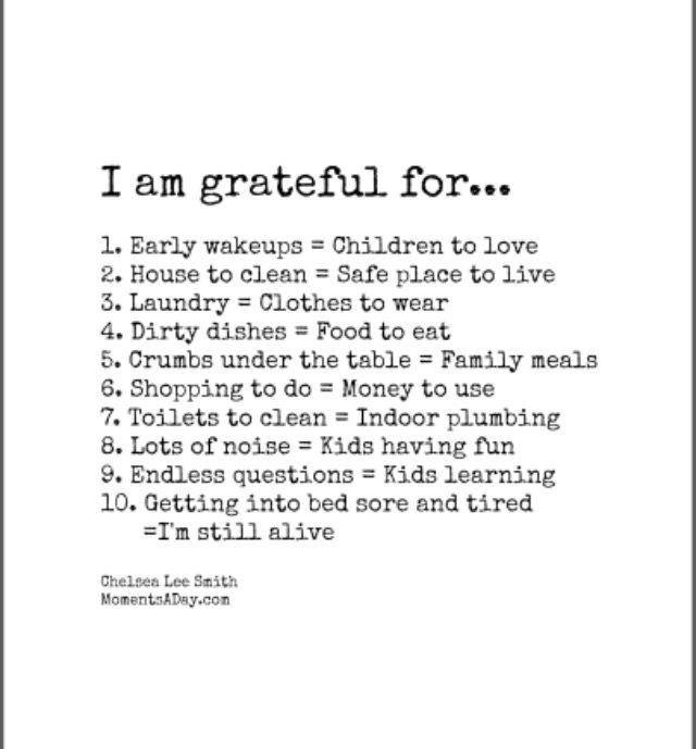 I am grateful for so much!