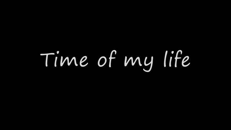 David Cook - Time Of My Life W/Lyrics