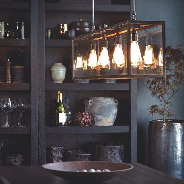 """814 Likes, 36 Comments - Slettvoll (@slettvoll_no) on Instagram: """"Håndlaget lampe fra Davey Lighting. Perfekt over spisebordet en kjøkkenøy og helt sikkert mange…"""""""