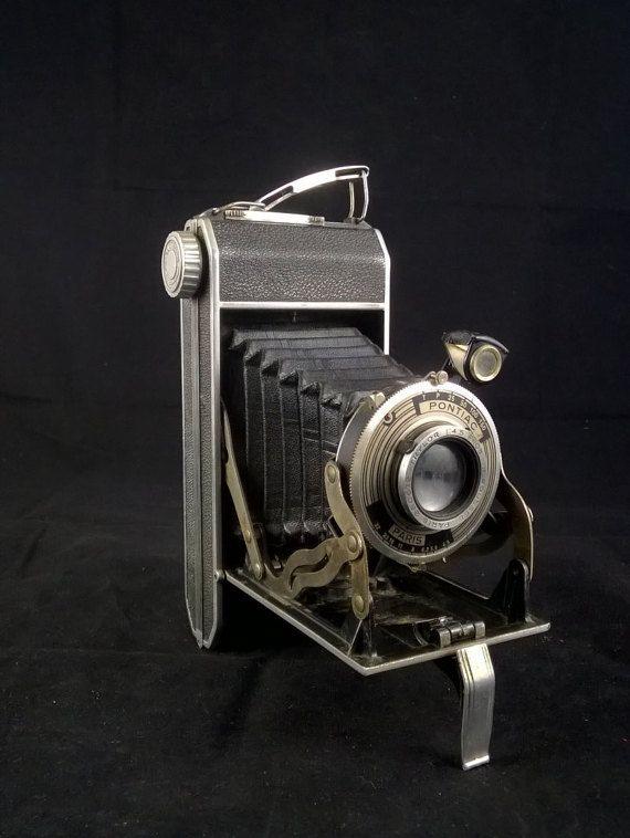 Folding camera Roussel camera antique camera by SmalandVintage