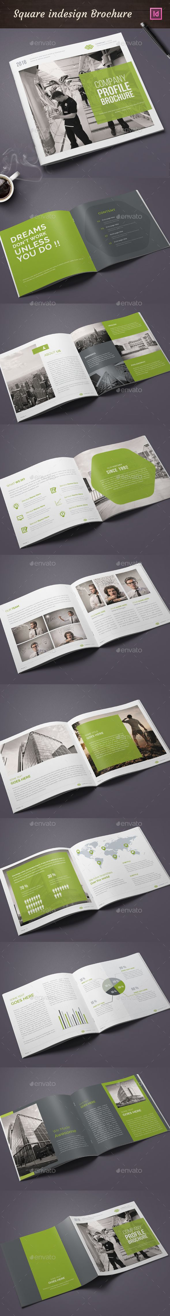 Square Annual Report Template InDesign INDD. Download here: http://graphicriver.net/item/square-annual-report/15449040?ref=ksioks