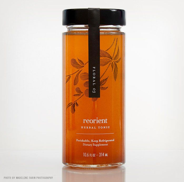 Reorient Herbal Tonic supplement #packaging