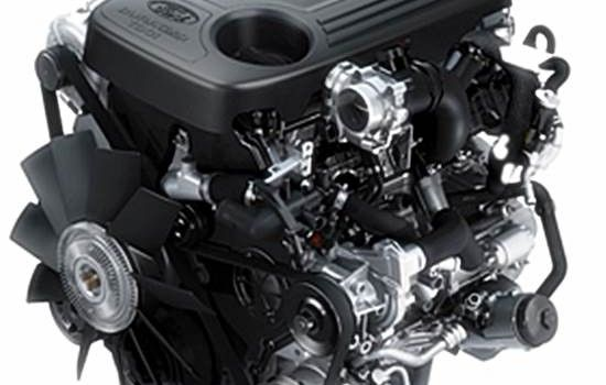 2015 Ford Everest engine