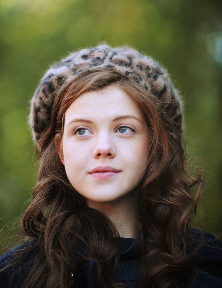Georgie Henley from The Chronicles of Narnia.