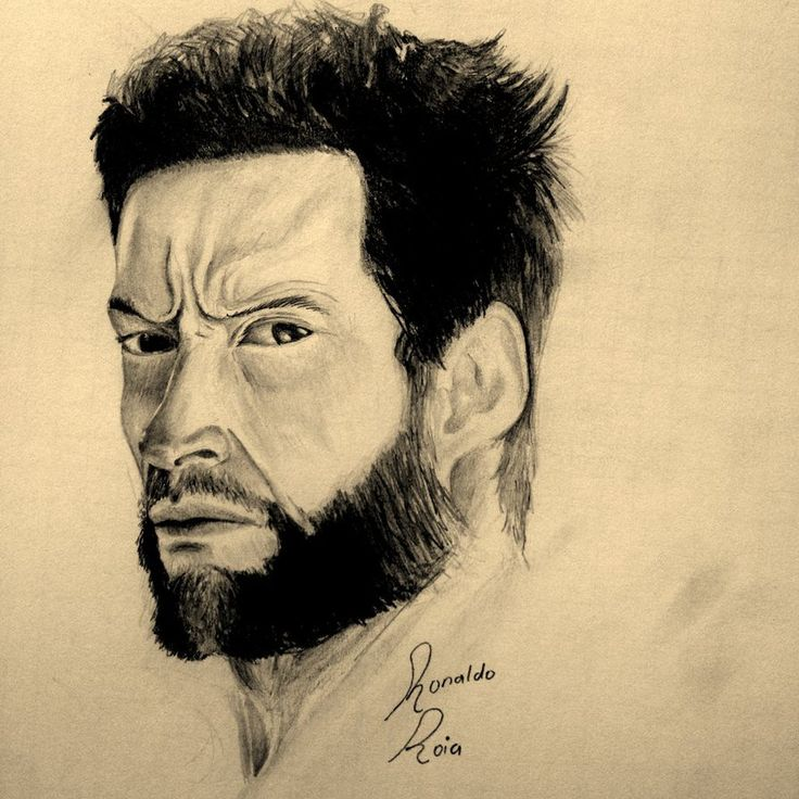 Hugh Jackman by RonaldoRoia