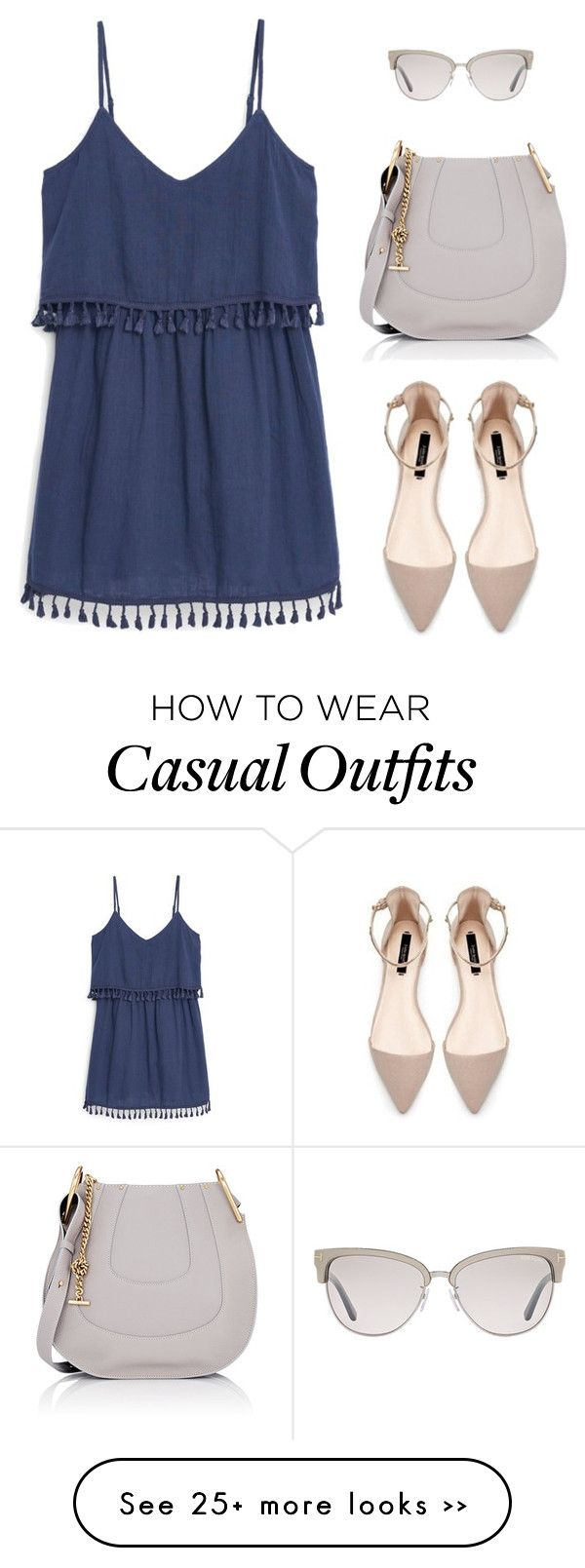 """""""Casual boho & chic"""" by marta-isabella on Polyvore featuring MANGO, Chloé and Tom Ford"""