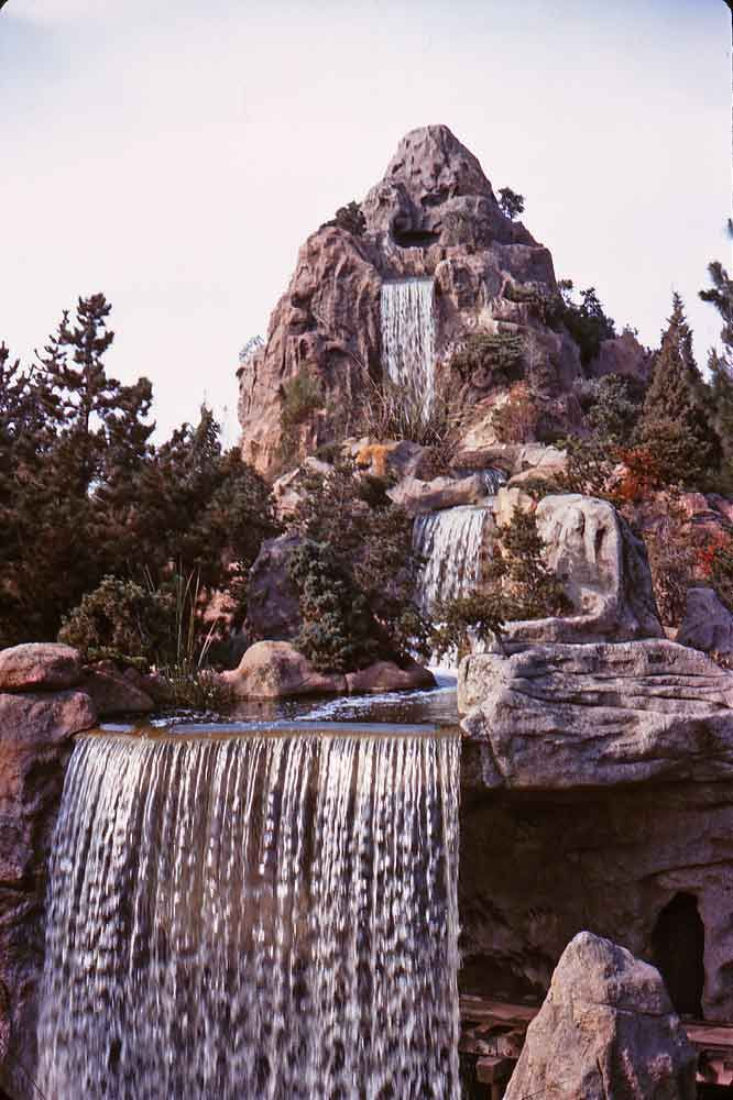 Cascade Peak was part of the Mine Train Through Nature's Wonderland, and that attraction closed in 1977.