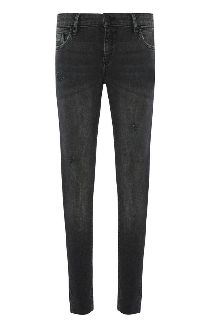 Primark - Jeans met hoge boord en 7/8 pijp