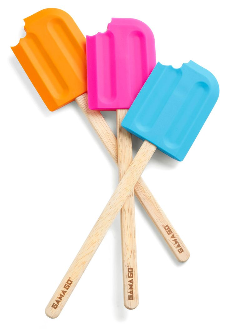 Oopsy Tasty Spatula. It's no accident that this spatula fromGama-Go is sweet! #multi #modcloth
