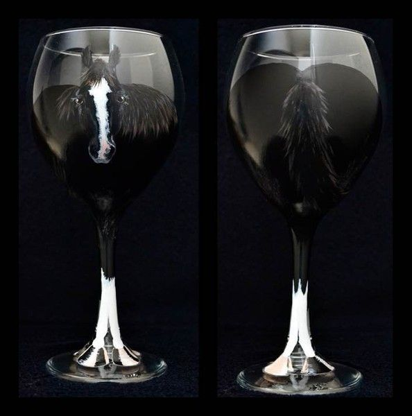 593 best equestrian decor images on pinterest equestrian for Phoenix glass decorating co