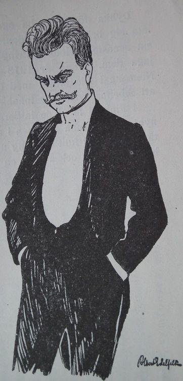 Jean Sibelius by Albert Edelfelt