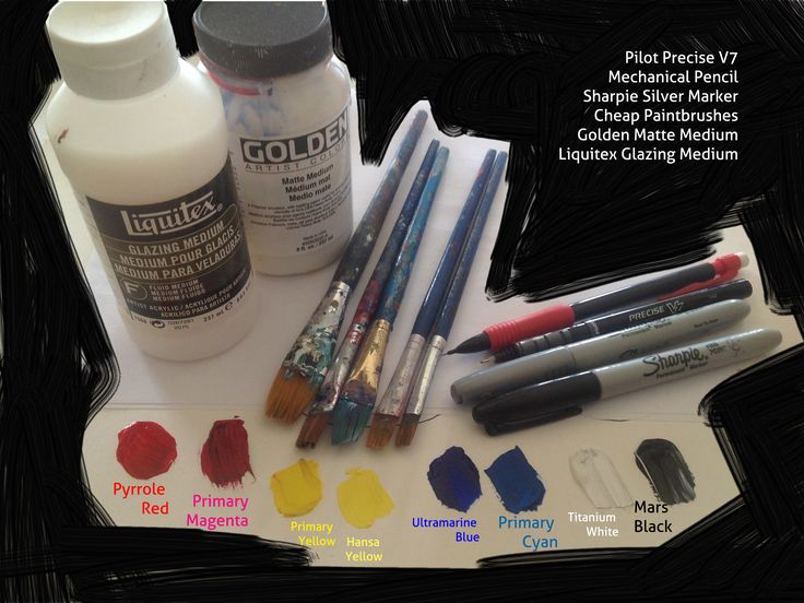 Acrylic Painting Tips and Tricks for Beginners - how to select your art supplies and make sure you have enough colors without spending too much money.