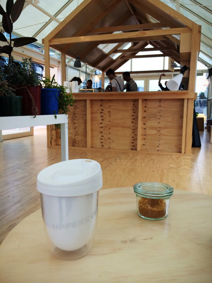 Coffee vibes down at Seven Seeds' Hortus Pop Up.