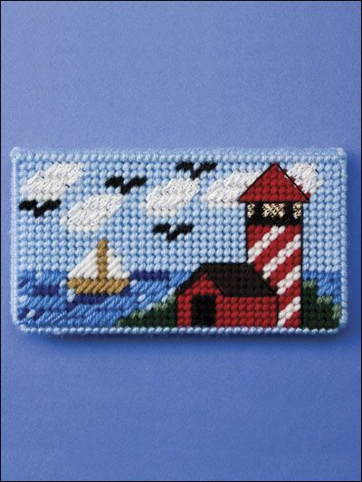 Checkbook Covers - Learn how to make checkbook covers using plastic canvas patterns