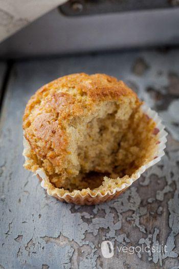 Muffin vegan agli agrumi - Vegolosi.it