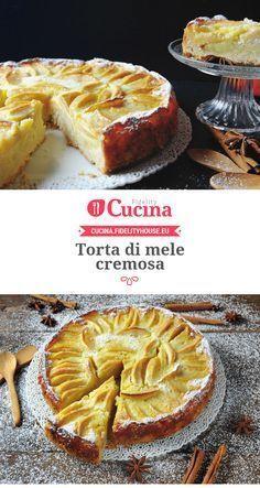 #Torta di #mele cremosa                                                                                                                                                                                 More