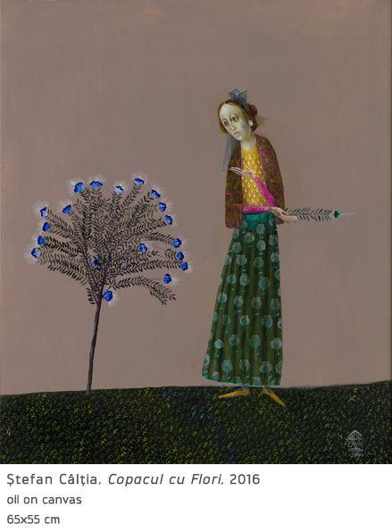 #40 Copacul cu Flori Stefan Caltia