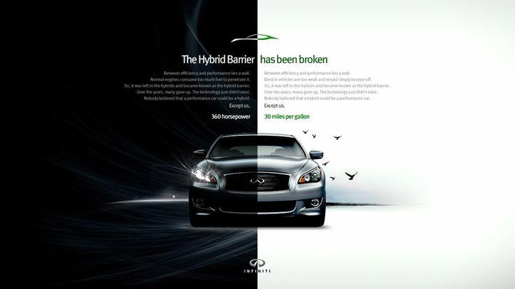 Infiniti - M Hybrid Split-Screen, Manifesto