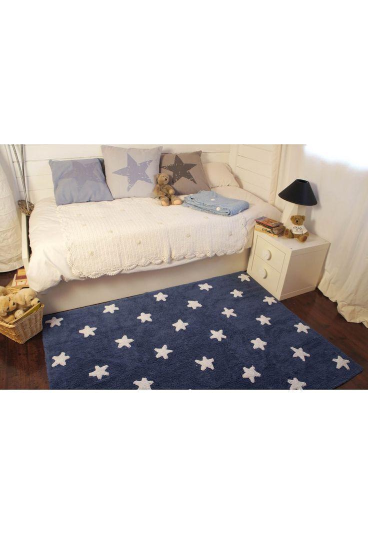 LORENA CANALS - Stars Navy-White