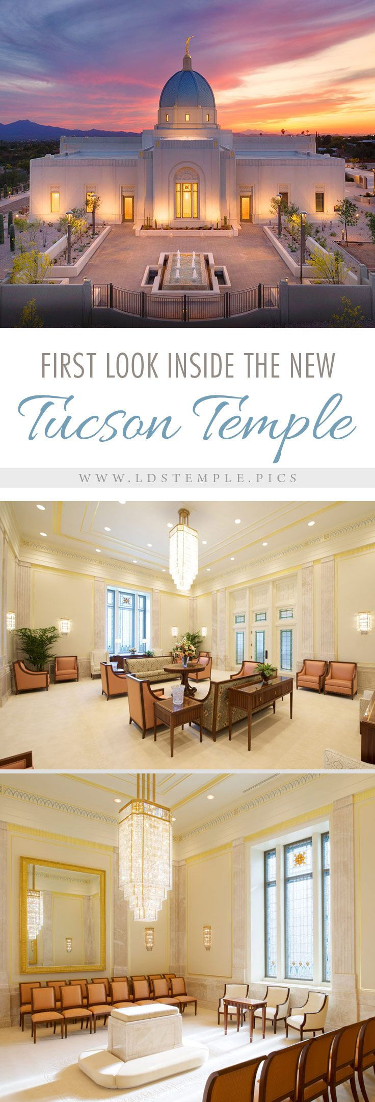 The First Look Inside the New Tucson Arizona Temple