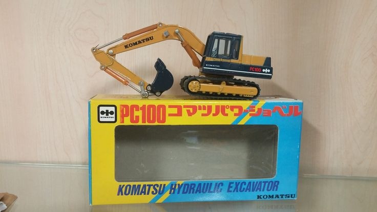 Komatsu PC100 Excavator