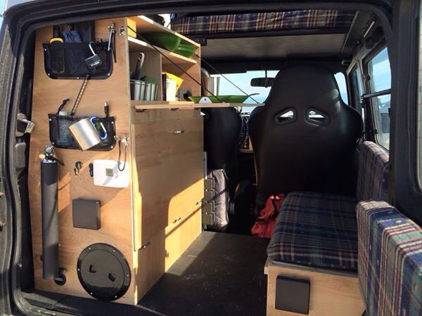 214 best suzuki jimny images on pinterest for Interieur camping car