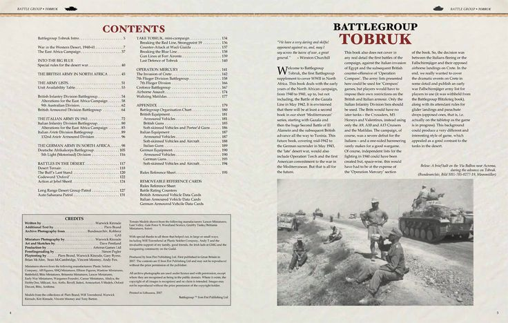 Battlegroup Tobruk Book Takes The Fighting To North Africa