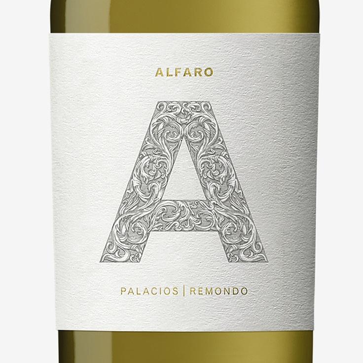 Alfaro wine label design by Dorian.