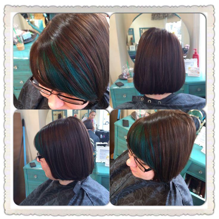Peekaboo Hair Color