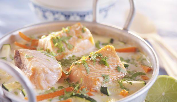 Asiatisk fiskegryte - Godfisk