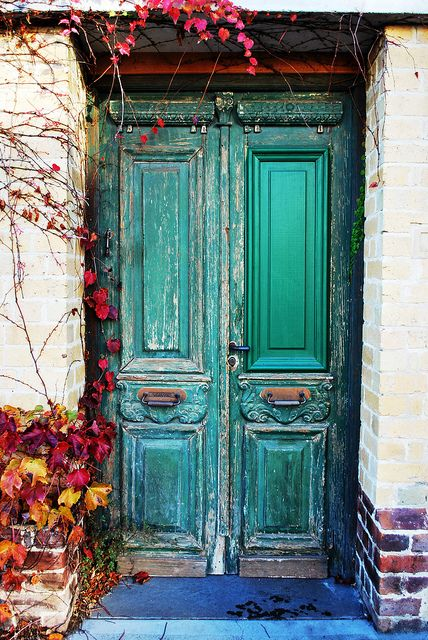 Fall in South Yarra | Cool looking old door covered in Ivy o… | Flickr