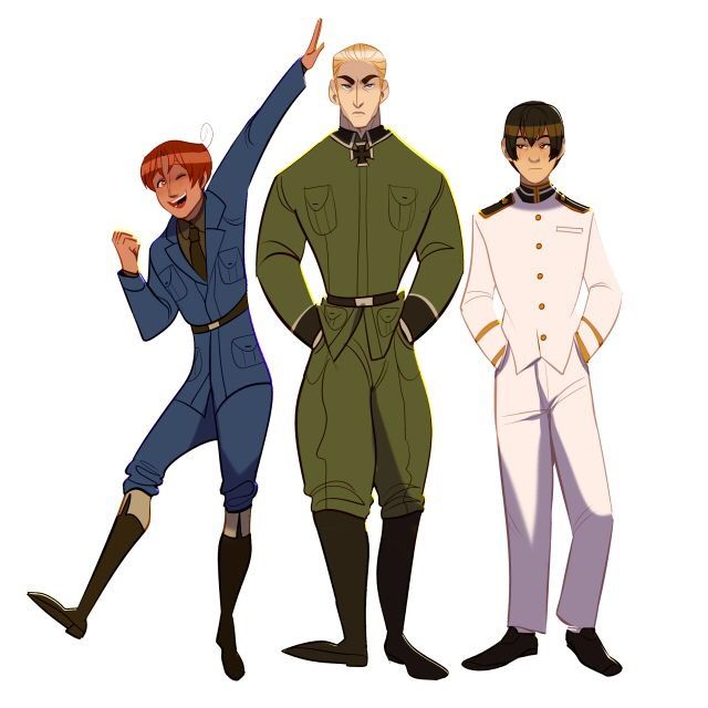Aph Axis Powers