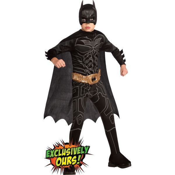 Boys Batman Costume - The Dark Knight Rises