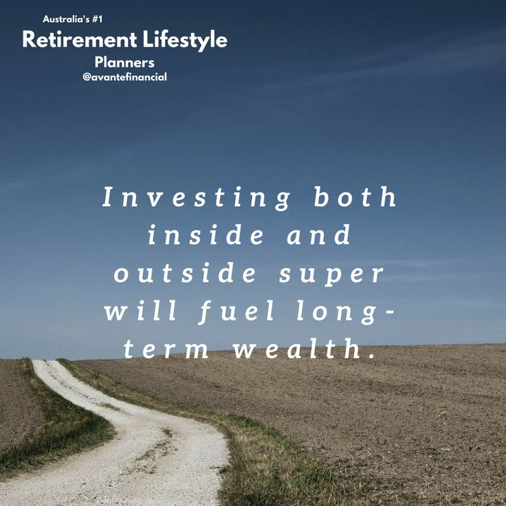 Investing is the key to wealth in retirement. #quote #askmohamedcfp #wealth #invest #planning #financialfreedom #money #retirement #avantefs