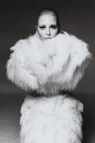 Faye Dunaway, photographed by Francesco Scavullo: