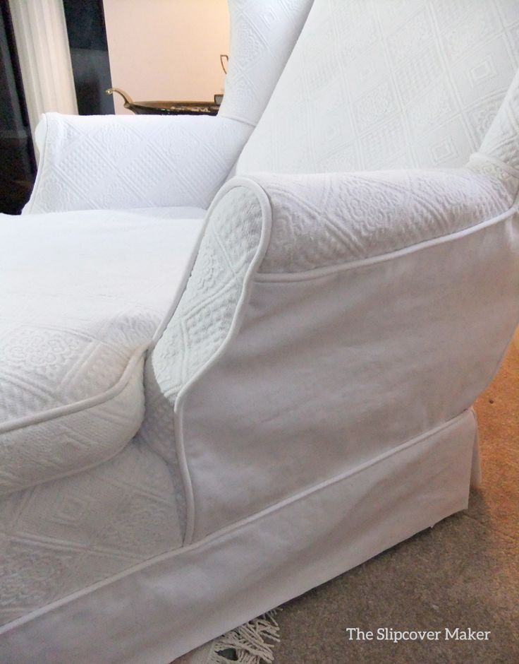 From Matelasse Bedspread To Chaise Slipcover Pam S