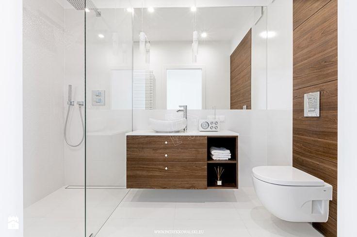 ul. Siedmiogrodzka - Średnia łazienka w bloku bez okna, styl minimalistyczny…