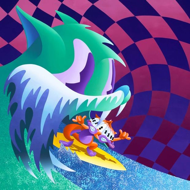 Congratulations, an MGMT album cover, by Anthony Ausgang