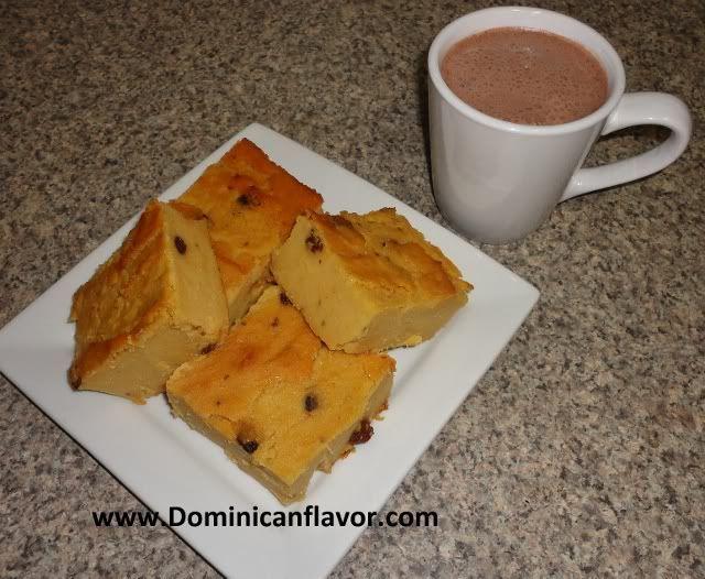 Dominican Style Sweetened Cornmeal Cake/Arepa Dominicana (Dulce ...