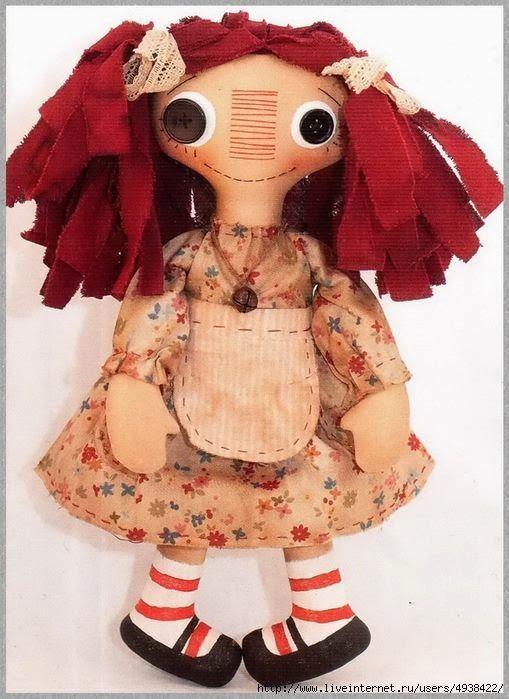 Olá....   Vejam quantas bonecas de pano podem ser feitas com apenas um molde!            Esta aqui também é fofa!