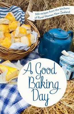 A Good Baking Day is a fantastic collection of 500 recipes from the good women of Rural Woman of New Zealand.  | Review on www.kiwifamilies.co.nz