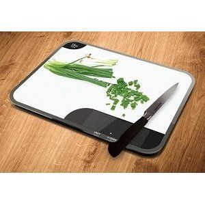 Salter Max Chopping Board Digital Kitchen Weighing Scales - Extra Large Glass Platform Design Electronic Cooking Scale Appliance for Home and Kitchen, Weigh and Chop Food up to 15kg, 15 Year Guarantee - White: Amazon.co.uk: Kitchen & Home
