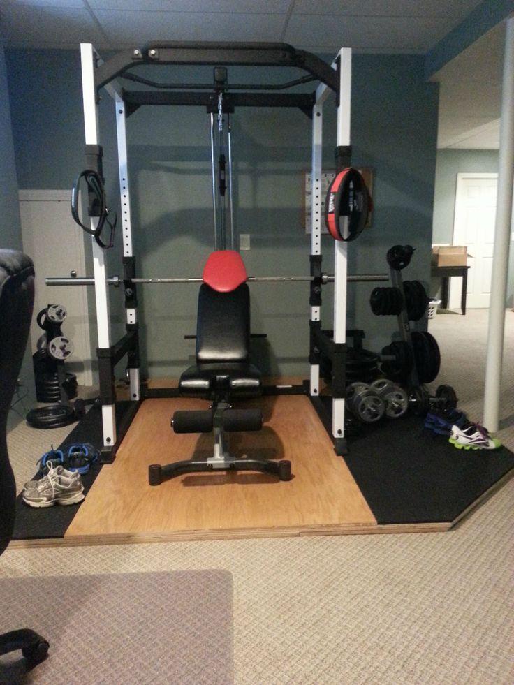 Diy home gym flooring garage rogue rubber