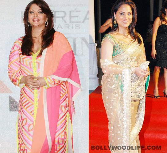 #Aishwarya Rai Bachchan vs #LaraDutta Bhupati – battle of the bulge! : While new mummy Lara is almost back to being yummy, Ash seems to be in no hurry to lose her baby fat five months after her daughter was born    It comes as a shocking contrast. Aishwarya Rai Bachchan had her baby five months ago and is reportedly busy enjoying every moment of motherhood, feeding Beti B – whose name, by the way, has still not been officially announced, though 'Aaradhya' is her registered moniker